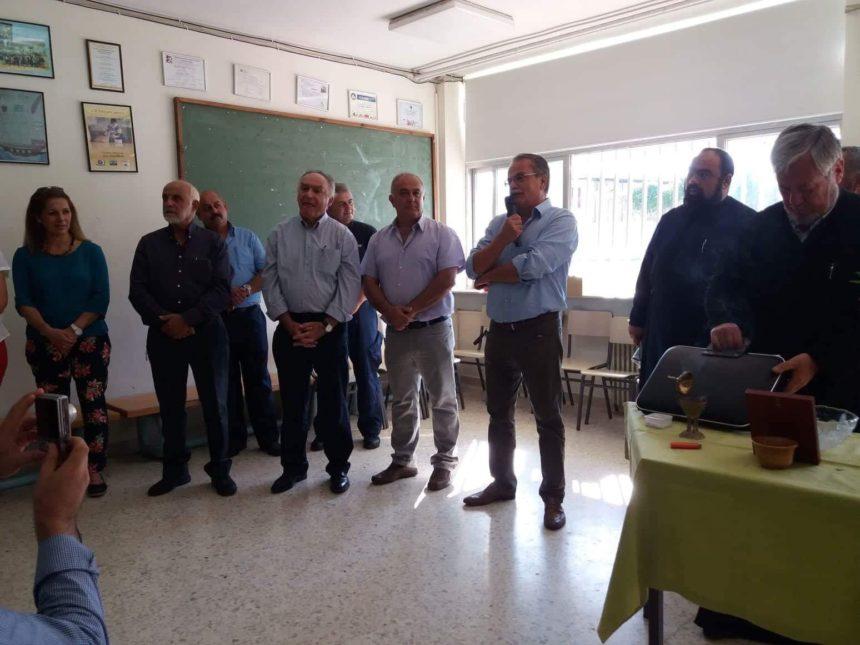 Τέλεση Αγιασμού στις Σχολικές Μονάδες του Δήμου Πλατανιά