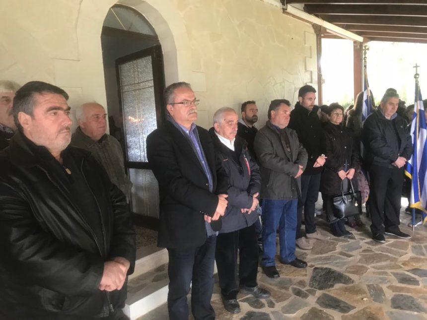Εορτασμός για την 122ης Επετείου της Μάχης του Πύργου των Βουκολιών στο Δήμο Πλατανιά
