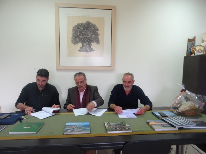 Υπογραφή  2- Συμβάσεων Έργων Οδοποιίας στο  Δήμο Πλατανιά