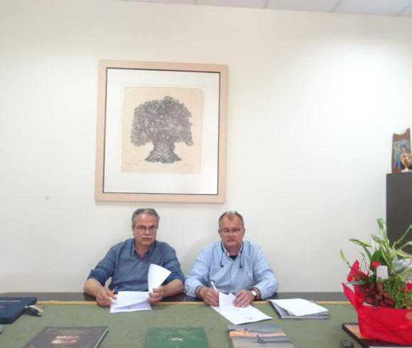 Υπογραφή Σύμβασης Έργου Δήμου Πλατανιά