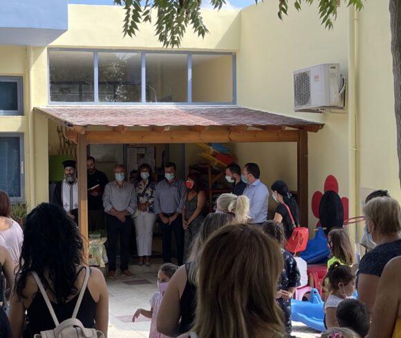 Πραγματοποιήθηκε ο Αγιασμός στις Σχολικές Μονάδες του Δήμου Πλατανιά για την έναρξη του  νέου Σχολικού Έτους.